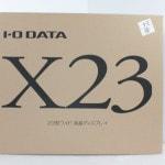 IO DATA 液晶モニター X23で買取のお客様