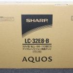 SHARP 液晶テレビ AQUOS LC-32E8-Bで買取のお客様