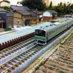 Nゲージの山手線鉄道模型