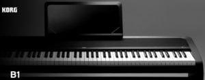 コルグ(KORG)の電子ピアノ「Bシリーズ」