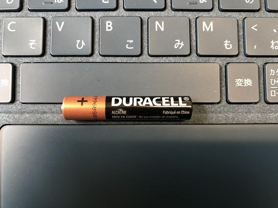 サーフェス(Surface)ペンの電池は[単6]~あまり売ってない~